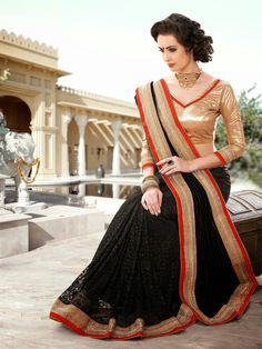 Backed by our rich industry expertise, we have come up with Designer Sarees for our valuable customers. Our team of designers uses its creative abilities to the maximum possible extent for crafting these exquisite pieces. By incorporating premium quality materials and unsurpassed techniques, we create a plethora of fascinating designs for our customers. These sarees are competitively priced.