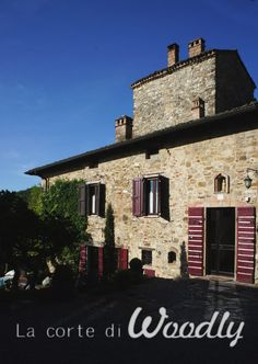 Woodly House and Courtyard. The best Bed and Breakfast near Parma, Italy, Amazing breakfast, great location Best Bed And Breakfast, Old Stone Houses, One Day Trip, Italy Italy, Parma, Relax, Mansions, House Styles, Amazing