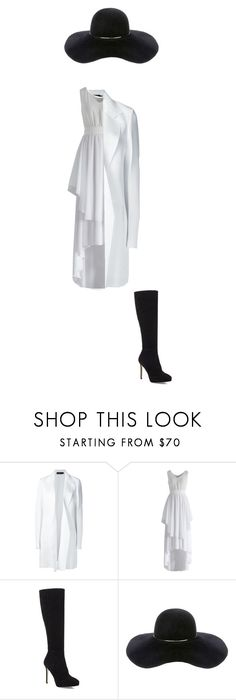 """""""Untitled #23"""" by shiyanemcnab on Polyvore featuring Calvin Klein Collection, Chicwish, Jimmy Choo and Eugenia Kim"""