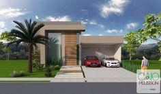 modelo de casas terreas pequenas modernas - Pesquisa Google