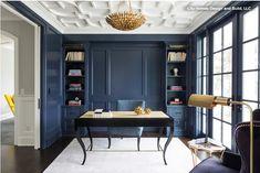 Wall paint: Van Deusen Blue, Benjamin Moore