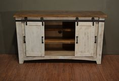 Rustic Solid Reclaimed wood 60 inch TV stand Media Center / Sideboard with 4 doors and shelves – Dresser Decor Solid Wood Furniture, Repurposed Furniture, Furniture Logo, Diy Furniture, Furniture Companies, White Wash Fireplace, Fireplace Whitewash, 60 Inch Tv Stand, Farmhouse Tv Stand