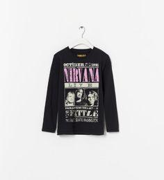 """NIRVANA"" T-SHIRT from Zara"