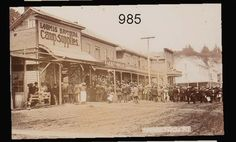 c-1910 ABBEY HOTEL RALLY, NEWPORT-OREGON Newport Oregon, Historical Pictures, Oregon Coast, Rally, Lincoln, Vintage Photos, The Past, Photographs, History