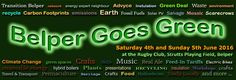Belper Goes Green 4 June 2016 Rugby Club, Low Carbon, Carbon Footprint, Space Crafts, Go Green, Climate Change, June, Events, Spaceships