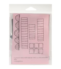 Stamping Bella Unmounted Rubber Stamp-Do These Stripes Make Me Look Fat?, , hi-res