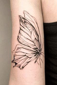 Beautiful And Meaningful Butterfly Tattoo Guide Outline Butterfly Tattoo