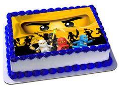 Lego Ninjago Edible Cake Topper Icing Sheets by Trendytreathouse