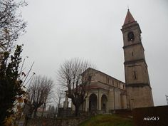 La bellissima chiesetta di #Dagnente e il giorno uggioso di sfondo (che non stona) ( #Arona #Novara #Piedmont #Italy )