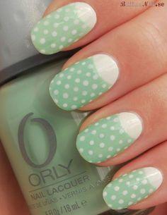 simple sweet nails #manicure #nailart