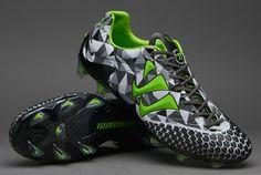 Warrior Football Boots - Warrior Skreamer S-Lite FG - Firm Ground - Soccer Cleats - Mirage Grey-Black-Jasmin Green