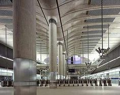 View the full picture gallery of Canary Wharf Underground Station Rogue One Trailer, New Housing Developments, London Underground Tube, London Architecture, Star Wars Film, New Community, Death Star, Social Work, Design Process