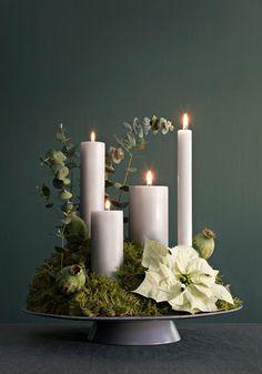 Christmas Advent Wreath, Holiday Wreaths, Christmas Time, Christmas Decorations, Xmas, Holiday Decorating, Advent Wreaths, Christmas Tables, Reindeer Christmas