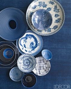 Stunning ceramics of all different patterns.
