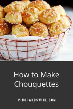 With this authentic French Chouquette recipe (Sugar Puffs / chouquettes), you can easily make a homemade version of the classic pattisserie / boulangerie treat that you'll find in Paris and all over France!