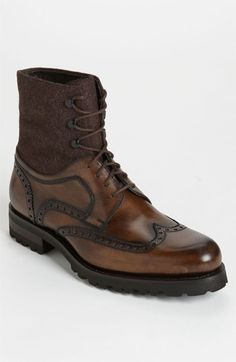 Very nice!  Magnanni 'Anton' Wingtip Boot (Online Exclusive) available at #Nordstrom