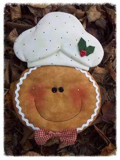 gingerbreadman hot pad w/ pattern Christmas Gingerbread Men, Gingerbread Ornaments, Gingerbread Decorations, Felt Christmas, Felt Ornaments, Christmas Time, Christmas Decorations, Christmas Ornaments, Felt Crafts