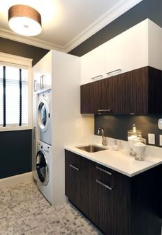 ... lavage on Pinterest Laundry Rooms, Laundry and Modern Laundry Rooms
