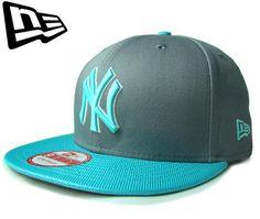 """【ニューエラ】【NEW ERA】9FIFTY STRAPBACK NEW YORK YANKEES """"NY"""" グレーXスカイブルー ストラップバック【CAP】【newera】【帽子】【スナップバック】【snap back】【snapback】【ニューヨーク・ヤンキース】【キャップ】【あす楽】【楽天市場】"""