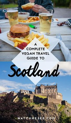 Vegan Scotland: A Complete Guide to Travelling Vegan in Scotland Is it actually possible to travel as a vegan in Scotland? Here's your COMPLETE guide on where to stay, what restaurants to eat at, and more! Glasgow, Best Vegan Restaurants, Chicago Restaurants, Easy Recipes For Beginners, Vegan Recipes, Vegan Food, Vegan Raw, Destination Voyage, Scotland Travel
