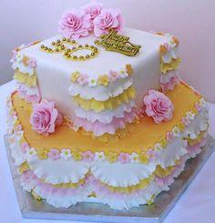 50th Anniversary Cake by http://cakesjust4u.jimdo.com/
