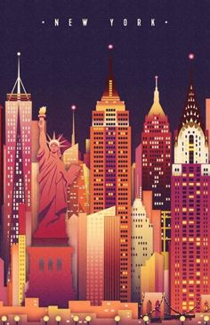 Vintage Travel Posters New York | The Travel Tester