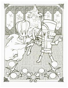 Nutcracker coloring page