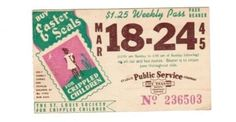 Weekly pass from Saint Louis (Missouri) Public Service Company (1945)
