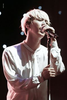 They are so passionate on the stage :')   BTS - Jin