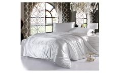 4Pcs Silk Satin soft and Luxury Sheet and Pilow case set