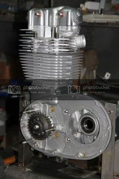 British Motorcycles, Cars And Motorcycles, Motocross Bikes, Motorcycle Engine, Scrambler, Espresso Machine, Coffee Maker, Engineering, Antiques
