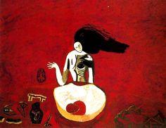 Untitled. Mimmo Paladino (1948- ), 1982. (Staatlich Museen Preussischer Kulturbesitz - Nationalgalerie, Berlin, Germany)