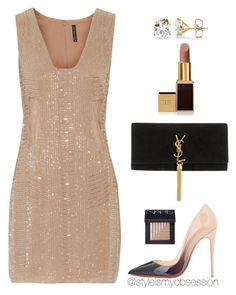 Untitled #1657 by dnicoleg on Polyvore featuring polyvore moda style W118 by Walter Baker Christian Louboutin Yves Saint Laurent Tom Ford NARS Cosmetics fashion clothing
