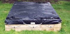 Sandpit Covers Made to Measure - Children's Sand Pit Covers - Cunningham Covers