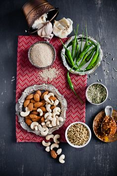 Ingredients for Murgh Korma, Chicken in Nutty Sauce