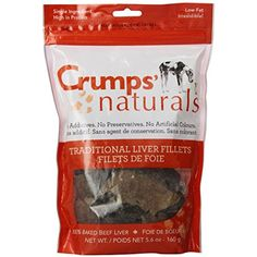 Crumps' Naturals Traditional Liver Fillets for Pets, 5.6-Ounce @@@ You can read more reviews of the product by visiting the link on the image. (This is an affiliate link and I receive a commission for the sales)