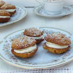 Sütőtökös-zabpelyhes keksz Recept képpel - Mindmegette.hu - Receptek Doughnut, Biscuits, French Toast, Muffin, Paleo, Dishes, Cookies, Breakfast, Food