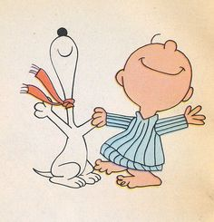 """Snoopy and Charlie Brown """"The Snoopy Dance"""""""
