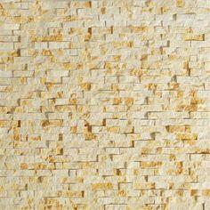 Natural Stone Split Face Gold Beige  Tile  www.arcstoneandtile.com