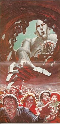 Queen, News Of The World (inside) (Frank Kelly Freas)