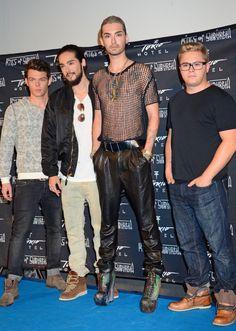 Tokio Hotel Begin Comeback Tour Promoting New Album Kings Of Suburbia At Kino Babylon - http://oceanup.com/2014/10/02/tokio-hotel-begin-comeback-tour-promoting-new-album-kings-of-suburbia-at-kino-babylon/