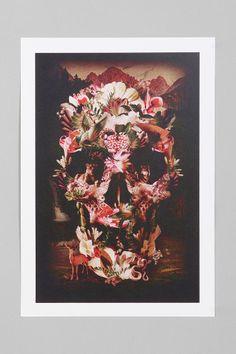 Ali Gulec For Society6 Animal Skull Art Print Online Only