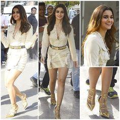 The cutie Alia Bhatt Beauty Cleavage For Fashion Show Good Night [ #aliabhatt #Alia #Bolly #Bollywood ] by #BollywoodScope