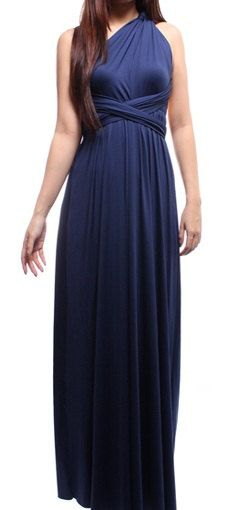 Convertible Navy Bridesmaids Dresses