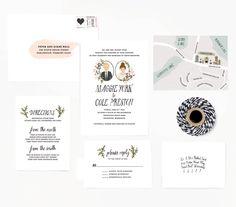 Invitación de Color me Carla #invitacion #boda #regalos #tiendaonline #aperfectlittlelife ☁ ☁ A Perfect Little Life ☁ ☁ para ver más productos nuestros visita nuestra web: www.aperfectlittlelife.com ☁