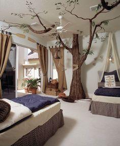kids in fancy hotels | Masculine Cool Bedroom Ideas for Men: Fancy Mediterranean Kids Bedroom ...