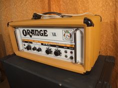 ORANGE OR-120 PRE-OWNED (EL34 BRIMAR NOS) VINTAGE 1976 YEAR  VENTA-CAMBIO / SALGAI-ALDATZEKO / SALE-TRADE! 1950€! http://www.kitarshokak.com/listado.php?lang=es&id=1360&seccion=3  #orange #vintage #amp #or120 #1976 #preowned #NOS #secondhand #segundamano #sale #venta #alquiler #hire #rent #recording #studio #grabacion #estudio #backline #tour #trade #cambios