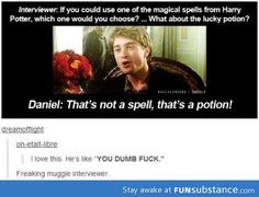 New Funny Harry Potter Interviews Thoughts Ideas Harry Potter Interviews, Harry Potter Jokes, Harry Potter Cast, Harry Potter Universal, Harry Potter Fandom, No Muggles, Eye Roll, Tumblr, Drarry