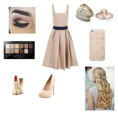 """""""Sweet day"""" by lizeth-horan97 on Polyvore featuring Chi Chi, Charles by Charles David, Maybelline, Miss Selfridge, Burberry, Sonix, women's clothing, women's fashion, women and female"""