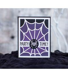 Cricut® Creepy Critters Cartridge | Halloween Party Invitations